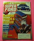 SUPER FORD MAGAZINE MAR/1991...BLOWERS, TURBOS & NITROUS!..1991 RACING GUIDE..