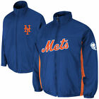 Majestic New York Mets Royal On-Field Triple Climate 3-In-1 Jacket