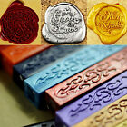 Vintage DIY Sealing Seal Wax Stick Envelope Wedding Invitation Stamp Letter Card