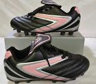 Vizari Girls Soccer Cleats Verona Pink/Black Sizes 1-6 New With Box