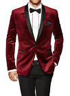 Men's Classic Single Brased Official Linen Two Button Blazer Coat MB # 33