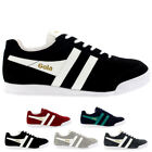 Mens Gola Harrier Suede Retro Casual Lace Up Low Top Sports Trainers UK 7-12