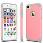 U.S Defender ShockProof Rubber Armor Hybrid Phone Case Cover For iPhone 7 7 Plus