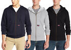 Dickies Men's Lightweight Zip Up Fleece Hoodie, Color Options