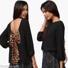 HX Women's Clothing Long Sleeve Blouse Top Ladies Chiffon Blouse Bow Back Shirt