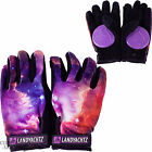 "LANDYACHTZ ""Space"" Slide Gloves w/ Pucks SALE L or XL Longboard Freeride PURPLE"