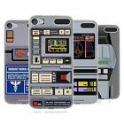 OFFICIAL STAR TREK GADGETS TNG SOFT GEL CASE FOR APPLE iPOD TOUCH MP3