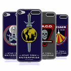OFFICIAL STAR TREK MIRROR UNIVERSE BADGES ENT GEL CASE FOR APPLE iPOD TOUCH MP3