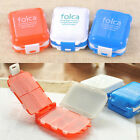 7 Slot Home Travel Foldable small Medicine Drug Pill Box Storage Case Organizer