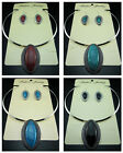 Free Tibetan silver Horse eye Earrings Bib Collars necklace Jewelry sets 4color
