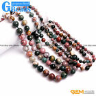 Handmade Beaded Ocean Jasper Gemstone Birthstone Princess Necklace Free Shipping