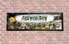 Personalized Customized Green Bay Packers #1 Name Poster Sport Banner with Frame $37.0 USD on eBay