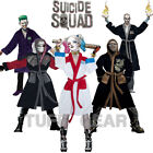Suicide Squad Adult Fleece Bathrobe Gown Robe Hooded Warm Mens Ladies Task Force
