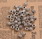 20/100PCS Tibetan silver big hole 3.5MM flowers Spacer beads Jewelry B3087