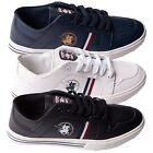 Mens Trainers Casual Footwear Sports Shoes By Santa Monica Polo Club Size 7-12