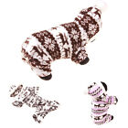 Pet Dog Fashion Warm Hoodie Clothes Winter Thicken Jumpsuit Coat Costume NEW