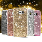 Shockproof Ultra-thin Soft Glitter Bling TPU Case Cover for Samsung S6 S7 Edge #