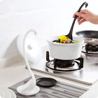 Long Handle Swan Ladle Spoon With Tray Upright Design Soup Ladle kitchen Gadgets