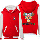 Winter Unisex Game ONE PIECE Tony Tony ChopperSweater Coat thicken Hooded Jacket