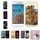Rubber Cute Cartoon Scenery Soft Silicon TPU New Fashion Back Cover Case For HTC