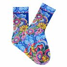 Laurel Burch Cat with Flowers, Crew/Trouser Socks, NWT, By K.Bell, Free Shipping