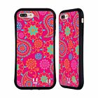 HEAD CASE DESIGNS PSYCHEDELIC PAISLEY HYBRID CASE FOR APPLE iPHONE 7 PLUS