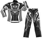 Wulf Attack Adult Black Trials Kit MX Quad Dirt Bike Enduro Off Road Sports Set