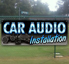 CAR AUDIO INSTALLATION Advertising Vinyl Banner Flag Sign Many Sizes Available