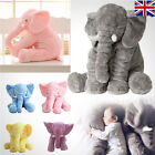 Fashion Long Nose Elephant Doll Pillow Soft Plush Stuff Toys Lumbar Pillow Gift