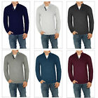 Threadbare Mens Tanner Chunky Knit Sweater Designer Luxurious Wool Blend Jumpers