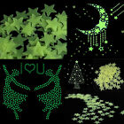 HOT Glow In The Dark Stars Moon Stickers Kids Bedroom Nursery Wall Ceiling Decor