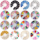 180 Piece Wheel of Nail Art Fimo Cane Slices Fruit, Flower, Butterfly, Hearts