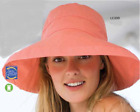 """Scala 3"""" Wide Brim Hat NWT, One Size Adjustable, Assorted Colors, 100% Cotton"""