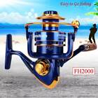 Spool 12BB Ball Bearing Portable Metal Spinning Fishing Reel Wheel High Speed