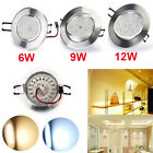 6/12x 6W/9W/12W Angle Adjustable LED Recessed Downlights LED Ceiling Spot Lights