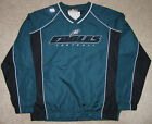 NFL Philadelphia Eagles Men's Coach's Choice Green Lightweight Pullover Jacket