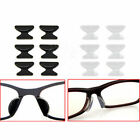 3 Pairs Sunglass Glasses Spectacles Anti-Slip Silicone Stick On Nose Pad Comfort