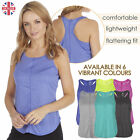 Ladies Womens Sports Gym Yoga Top T-Shirt Performance Wicking Active Size S-XXL
