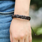 New Fashion Braided Leather Bracelet Men Bracelet Women Jewelry Charm Bracelet