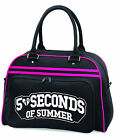 5SOS, Five Seconds Of Summer Bowling Style Bag, School Collage Sports Gym Bag