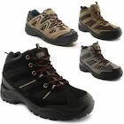 New Mens Boys Hiking Boots Trekking Trail Walking Trainers Shoes Boots Size 7-12