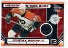 1X JEREMY ROENICK 2003 04 Pacific Prism RED #136 GAME USE JERSEY Serial #d 15/75