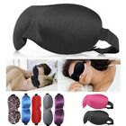 3D Eye Mask Shade Cover Rest Sleep Eyepatch Shield Travel Sleeping Aid WS