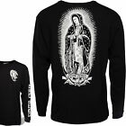 "SANTA CRUZ ""Guadalupe"" Skateboard LS T-Shirt  BLACK  S M L XL Jessee Long Sleeve"