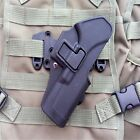 Hunt Tactical Chest Waist Leg Paddle Molle Holster For Glock 17 Series Black/Tan