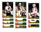 1X NJ DEVILS 1987 88 O Pee Chee FULL TEAM SET Lots Available OPC New Jersey