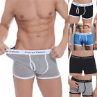 Hot Men's Cotton Underwear Boxer Briefs Shorts Bulge Pouch Underpants M L XL