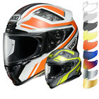 Shoei NXR Parameter Motorcycle Motorbike Full Face Helmet & Visor Racing ECE ACU