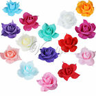 8CM Rose Flowers Heads Bridal Bridesmaids Garland Hair Head Band Wedding Floral