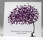 Love Blossom Wedding Invitations personalised,envelopes, day/ evening any colour